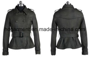 Fashion Punk PU Jackets for Lady/Women, Outdoor Coat pictures & photos