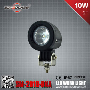 2 Inch 10W (1PCS*10W) CREE LED Work Light for Motocycles Daytime Running (Sm-2010-Rxa