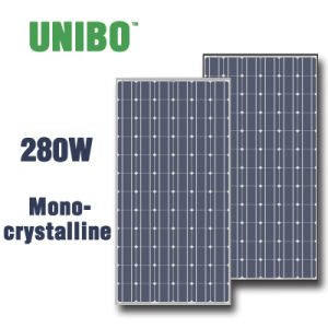 280W Selling Best Mono-Crystalline Silicon Solar Panel pictures & photos