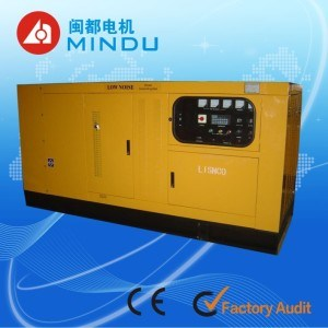300kw Water Cooled Cummins Diesel Generator Set