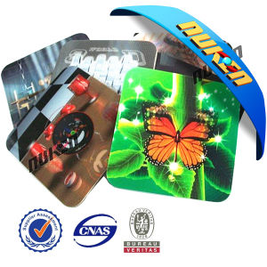High Quality Custom 3D Lenticular Beer Cup Drinking Coaster pictures & photos