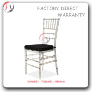 Resin Chiavari Chairs with Hook & Loop Cushions (RT-23) pictures & photos