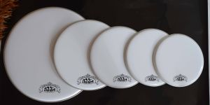 White Drum Head for 5-PC Drum Kit (DH-105) pictures & photos