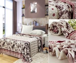 Stock Printed Flannel Fleece Blanket pictures & photos