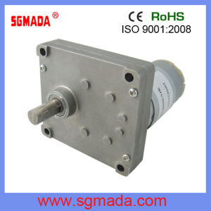 DC Square Gear Motor (VF-555) pictures & photos