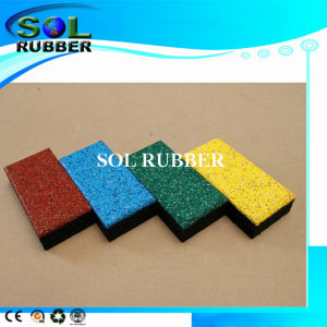 En1177 Certificated High Density Outdoor Rubber Floor pictures & photos