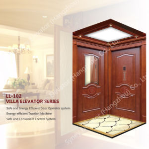 250kg Mrl Small House Lift with Low Speed (LL-102) pictures & photos