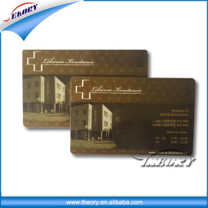 Cr80 Custom Clear Credit Card Size ID White Blank Plastic PVC Cards pictures & photos
