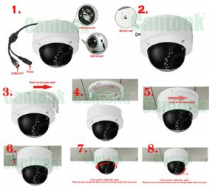 Metal HD Network Camera with Good Night Vision (IPSQ20H400) pictures & photos