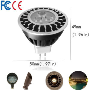 Landscape Lighting MR16 LED Spotlight with CREE Xbd Chips pictures & photos