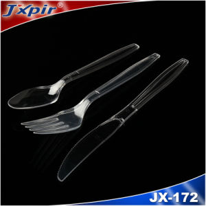 Disposable Cutlery Plastic Fork Plastic Knife Plastid Spoon pictures & photos