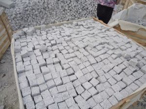Cheap Grey Granite Cube Paving Stone pictures & photos