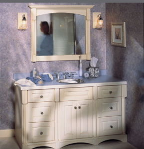 Wooden Vanity Cabinet (W-002) pictures & photos