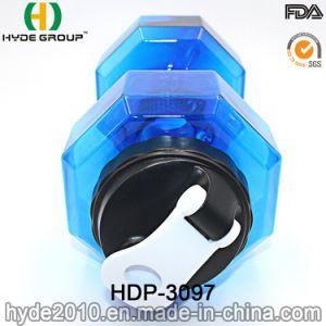 Portable BPA Free 2.2L PETG Plastic Dumbbell Water Bottle pictures & photos