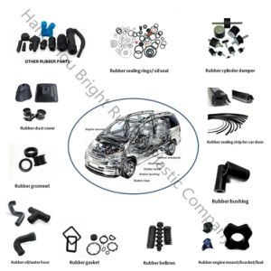 Ts16949 Approved Auto Rubber Product pictures & photos