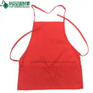 Promotion Custom Polyester Cotton Kids Painting Apron with Front Pockets pictures & photos