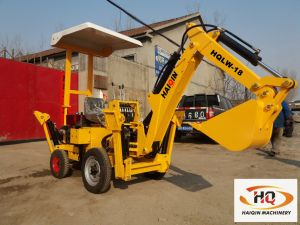Made in China Farm Mini Excavator (HQLW-18) for Sale pictures & photos
