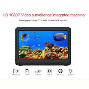 7 Inch Ahd 1080P Video Audio Surveillance Integrated DVR Monitor pictures & photos
