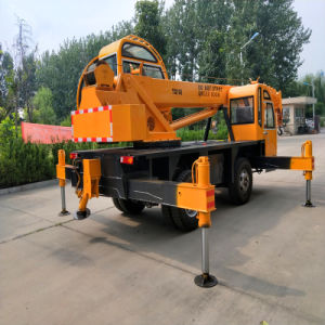 High Efficiency Construction Machinery 20t Mobile Truck Crane From China pictures & photos