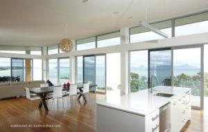 Light Tinted Glass Laminated Aluminium Sliding Balcony Doors pictures & photos