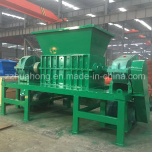 Double Shaft Waste Rubber Tire Recycling Plant Shredder Machine for Sale pictures & photos