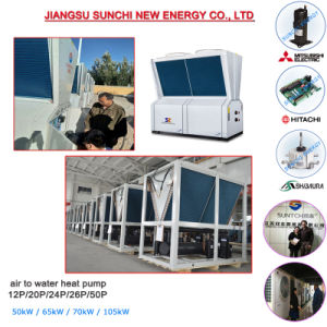 Modular Air-Cooled Chiller for Heating and Cooling pictures & photos