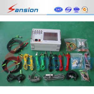 Sxgk-F 12 Channels High Precision High Voltage Swichgear Circuit Breaker Tester pictures & photos