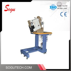 Xs0426 Ornamental Side Seams Double Thread Lockstitch Leather Shoes Sole Stitching Machine pictures & photos