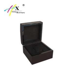Hot-Selling Customized Wooden Watch Gift Box with Velvet pictures & photos