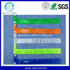 Events Gathering Disposible PP Paper RFID Wristband pictures & photos