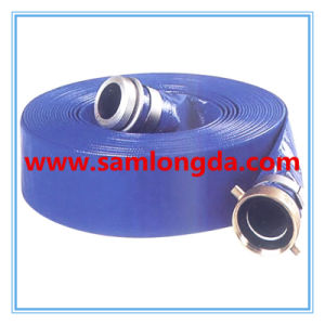 """PVC Layflat Hose with SGS RoHS Certificate (3/4""""-12"""") pictures & photos"""