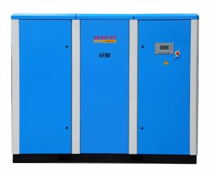 Sf90kw/122HP August Variable Frequency Screw Air Compressor pictures & photos