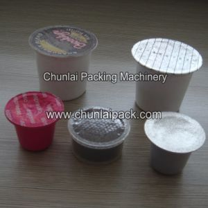 Coffee Powder Capsule Filling and Sealing Machine pictures & photos