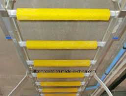 FRP Anti Slip Ladder Rung/ Fiberglass Ladder Protection Tool pictures & photos