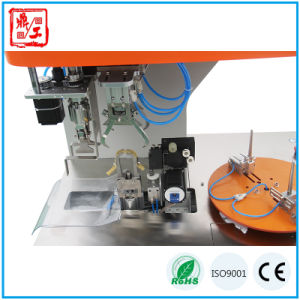 Automatic 8 Letter Cable Coiling Winding and Binding Machine pictures & photos