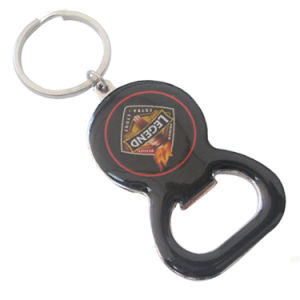 Stainless Iron Round Shape Keychain Bottle Opener pictures & photos
