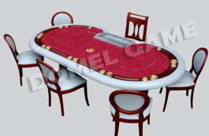 Casino Texas Hold′em Poker Table Group (DPT4A21G) pictures & photos