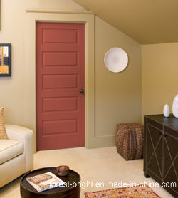5-Panel Flush Panel Interior Door/Interior Doors for Home pictures & photos