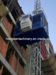 Hongda Construction Elevator Sc100 (1ton) pictures & photos