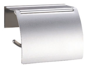 Aluminum Wall Mounted Bathroom Accessories, Chrome Tissue Holder-3