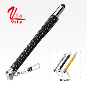 Promotional Touch Screen Ball Pen 5 in 1 Multi-Functional Tool Pen on Sell pictures & photos