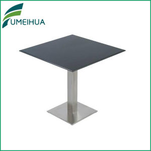 Customized Fireproof Black Phenolic Laminate Dining Room Table Top pictures & photos