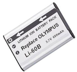 Digital Camera Battery/Camcorder Battery for Olympus (LI-60B(EN-EL11))