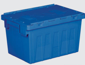 600*400*355 Plastic Logistic Box with Lid pictures & photos