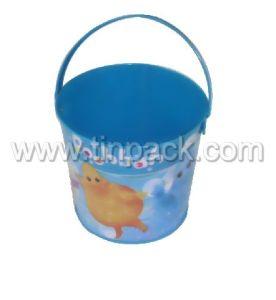 Tin Pail Tin Bucket