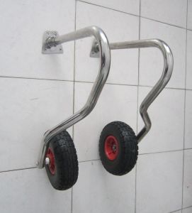 Practical Transom Dolly Boat Trailer Wheels pictures & photos