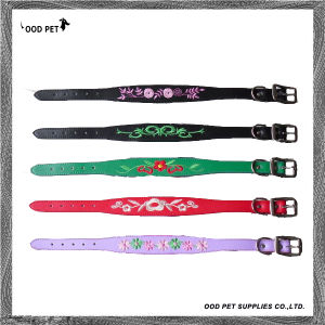 Personlized Embroidery Dog Collar (SPC7133-1) pictures & photos