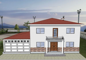Chinese New Design Economical Lgs Light Steel Villa pictures & photos