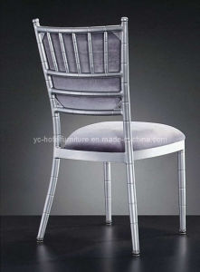 High Classy Grey Fabric Banquet Wedding Chair (YC-A37) pictures & photos