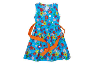 Summer Girl Cute Dress in Children Clothes (SQD-102) pictures & photos